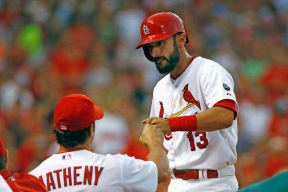 Carpenter homers twice cardinals win on garcia s walk - Carlos martinez garcia ...
