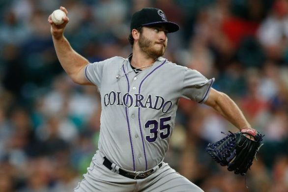 Rockies pitcher Chad Bettis diagnosed with testicular cancer