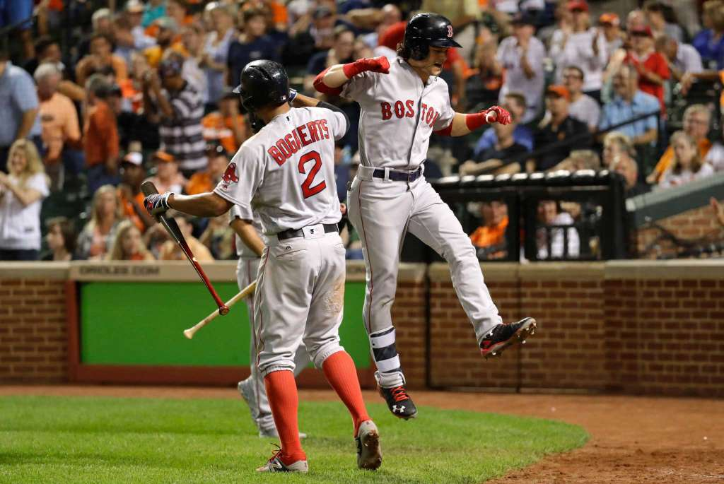 Red Sox use 5 unearned runs to beat skidding Orioles 5-1