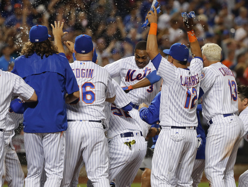 Granderson homers in 11th and 12th, lifts Mets over Twins