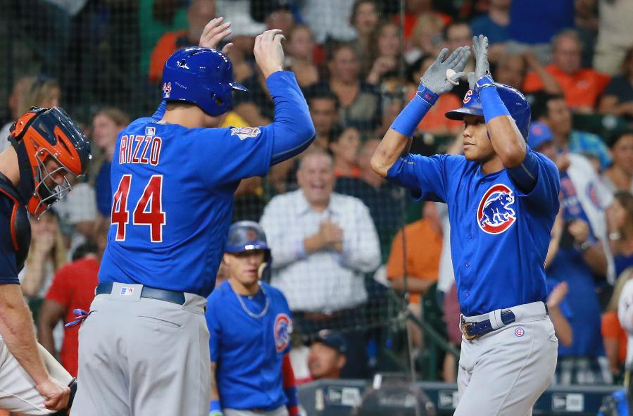 Russell, Soler homer lead Cubs in 9-5 win over Astros