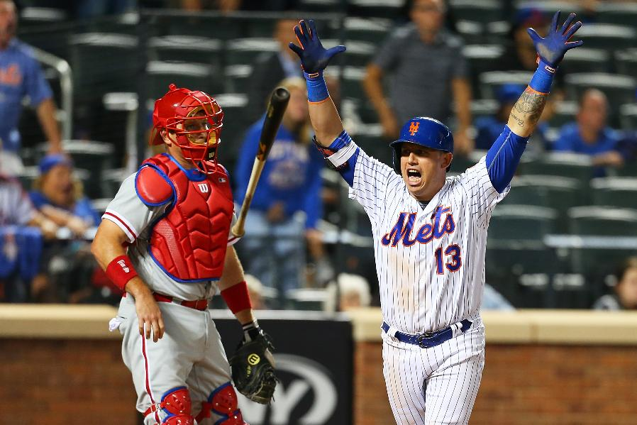 Cabrera 11th-inning homer leads Mets over Phillies 9-8