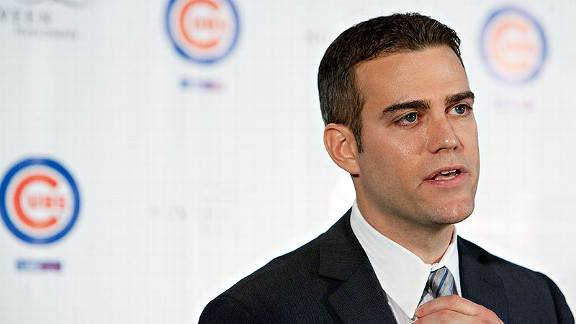 Cubs agree to 5-year extension with Theo Epstein