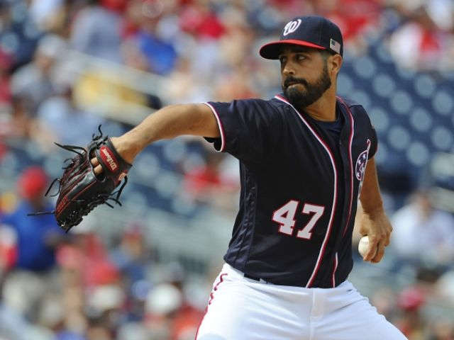 Gonzalez strong for 7 innings, Nationals beat Phillies