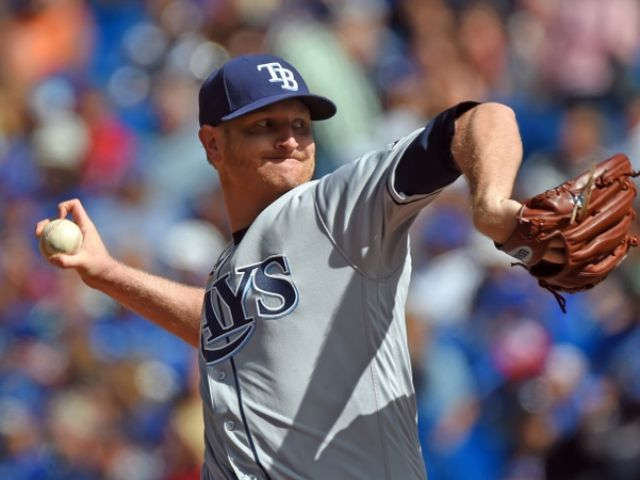 Cobb wins for first time since 2014, Rays beat Blue Jays 8-1