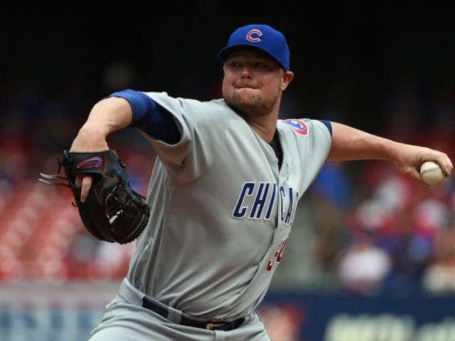 Lester dominates Cardinals as Cubs magic number hits 1