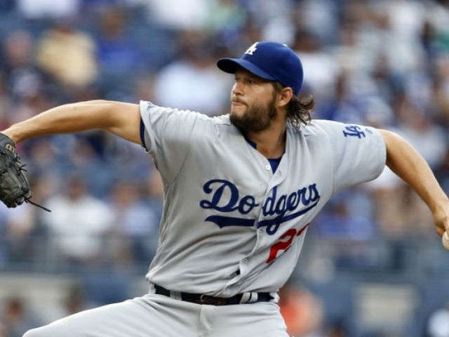 Kershaw nearly perfect for 5 innings, Dodgers beat Yankees 2-0