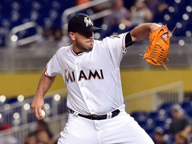 Stanton, Fernandez lead Marlins to 1-0 win over Nationals