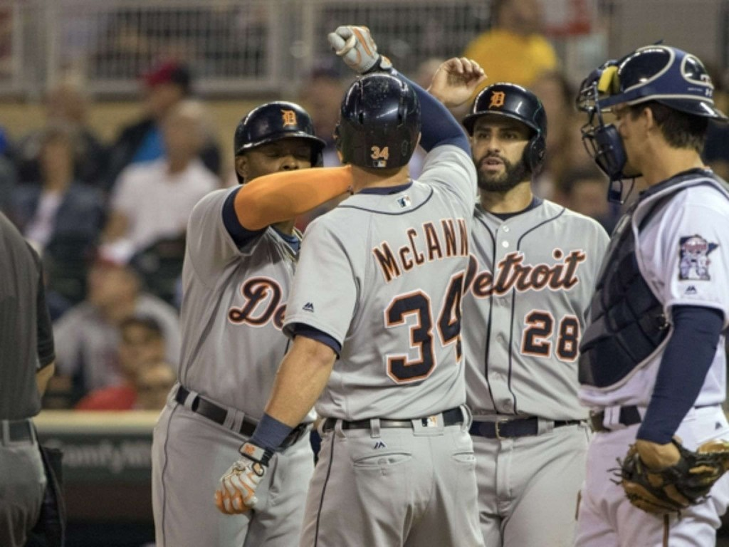 Boyd, Tigers beat Twins 8-1 with homers by McCann, Cabrera