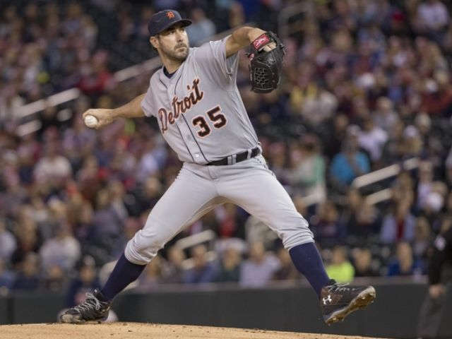 Verlander, Tigers sweep Twins, move into AL wild-card spot