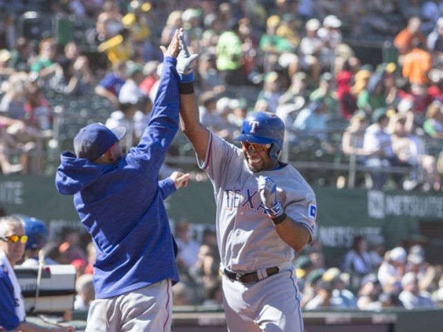 Andrus hits pair of 2-run homers for division champ Rangers