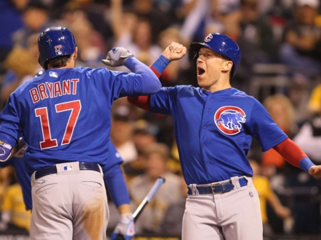 Cubs rout Pirates 12-2 for 100th win behind Baez's six RBIs