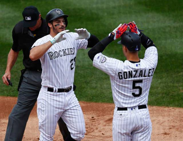 Arenado, Marquez lift Rockies to 11-1 win over Cardinals