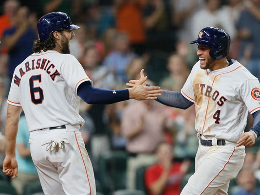 Astros use big sixth inning to get 8-4 win over Mariners