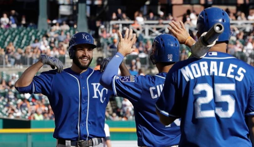 Orlando, Hosmer spark late comeback as Royals top Tigers 7-4