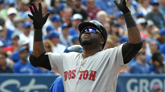 Ortiz hits 3-run HR as Red Sox outslug Blue Jays 11-8
