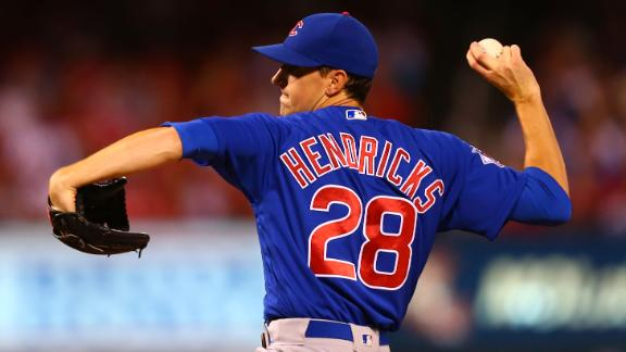 Hendricks loses no-hit bid in 9th, Cubs beat Cardinals 4-1
