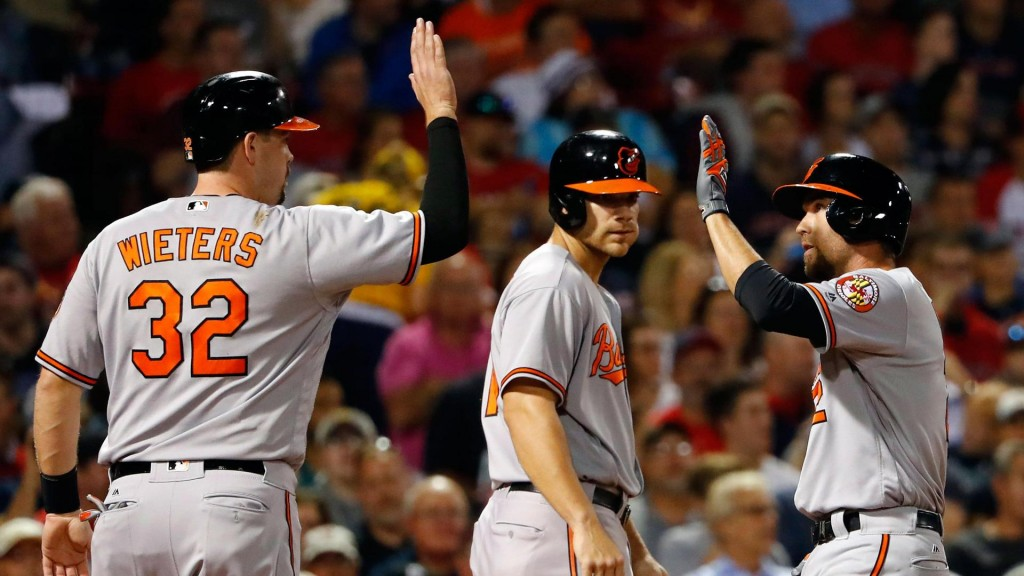 Hardy, Reimold power Orioles to 5-3 victory over Red Sox