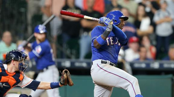 Profar helps Rangers rally for 3-2 win over Astros