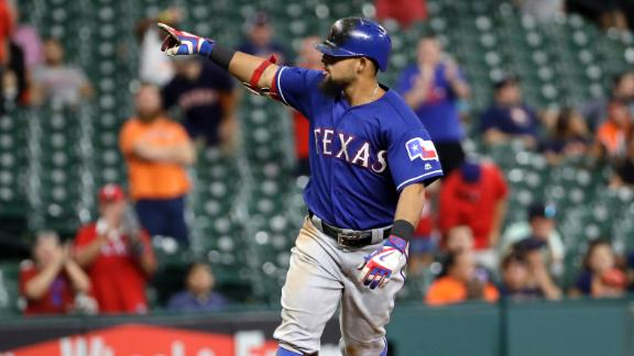 Odor's homer in 12th lifts Rangers over Astros, 4-3