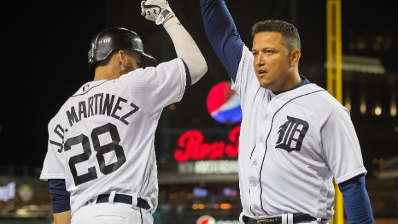 Cabrera's late homer leads Tigers to key 9-6 win over Twins