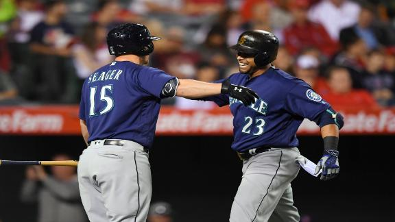 Cruz, Seager homer as Mariners edge Angels for 8th straight
