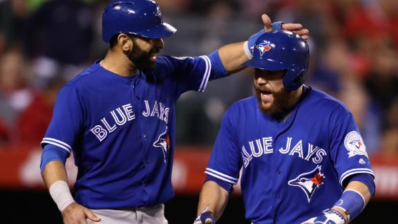 Donaldson, Martin lead Blue Jays past Angels, 7-2