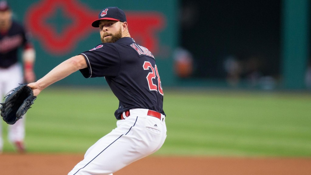Kluber's strong outing knocks Royals from AL Central race