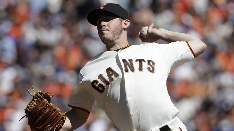 Ty Blach outduels Clayton Kershaw as Giants keep wild-card lead over Cardinals