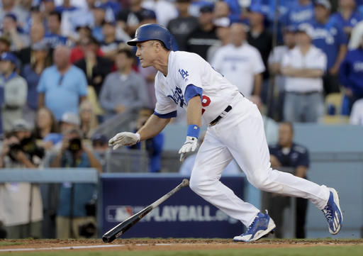 Utley's single lifts Dodgers over Nats 6-5 to force Game 5