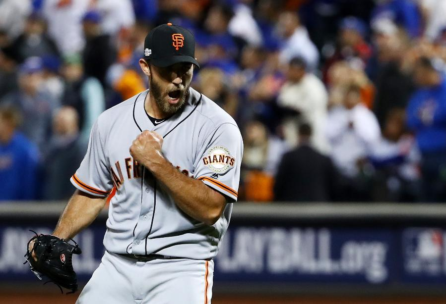 Bumgarner, Gillaspie lead Giants over Mets 3-0; Cubs next