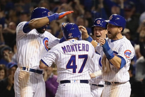 Montero's pinch-hit slam lifts Cubs over Dodgers 8-4