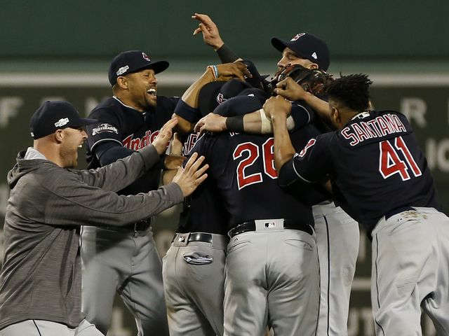 Indians sweep Red Sox to advance to ALCS, ending David Ortiz's career