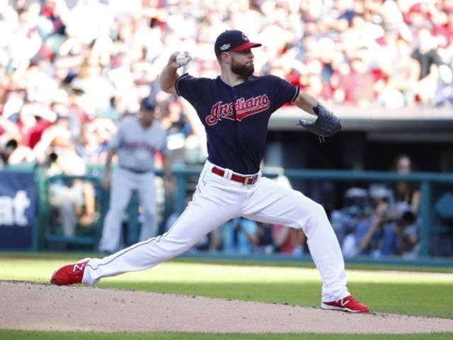 Kluber, Indians blank Red Sox 6-0, take 2-0 ALDS lead
