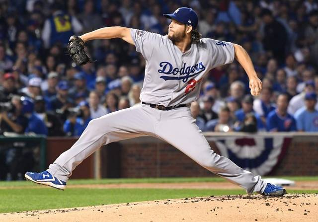 Kershaw helps Dodgers blank Cubs 1-0 in NLCS Game 2