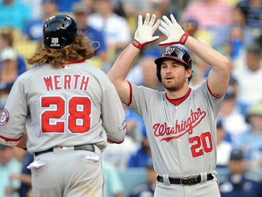 Nationals beat Dodgers 8-3 to take 2-1 lead in NLDS