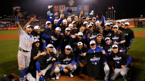 Cubs beat Giants behind 4-run, 9th-inning rally to reach NLCS