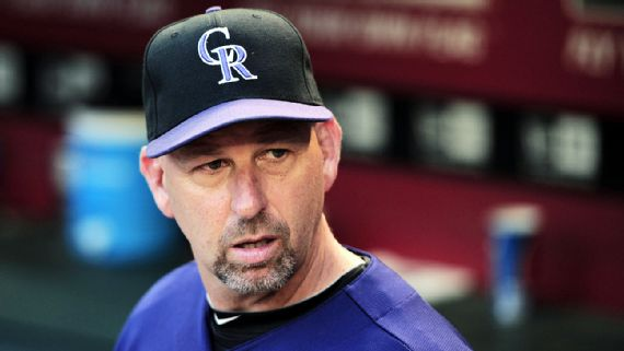 Walt Weiss out as Rockies manager after four seasons