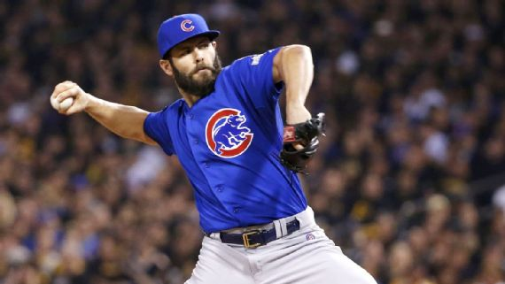 Cubs avoid arbitration with Jake Arrieta, two others