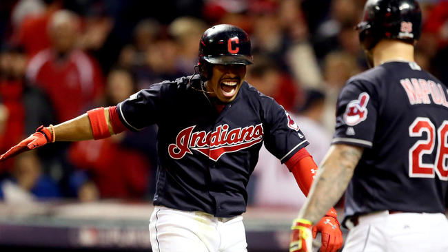 Lindor, Kluber lead Indians to Game 1 win
