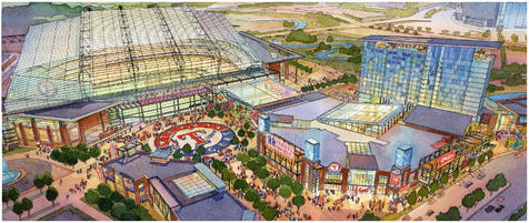 Arlington voters approve public money for new Rangers stadium