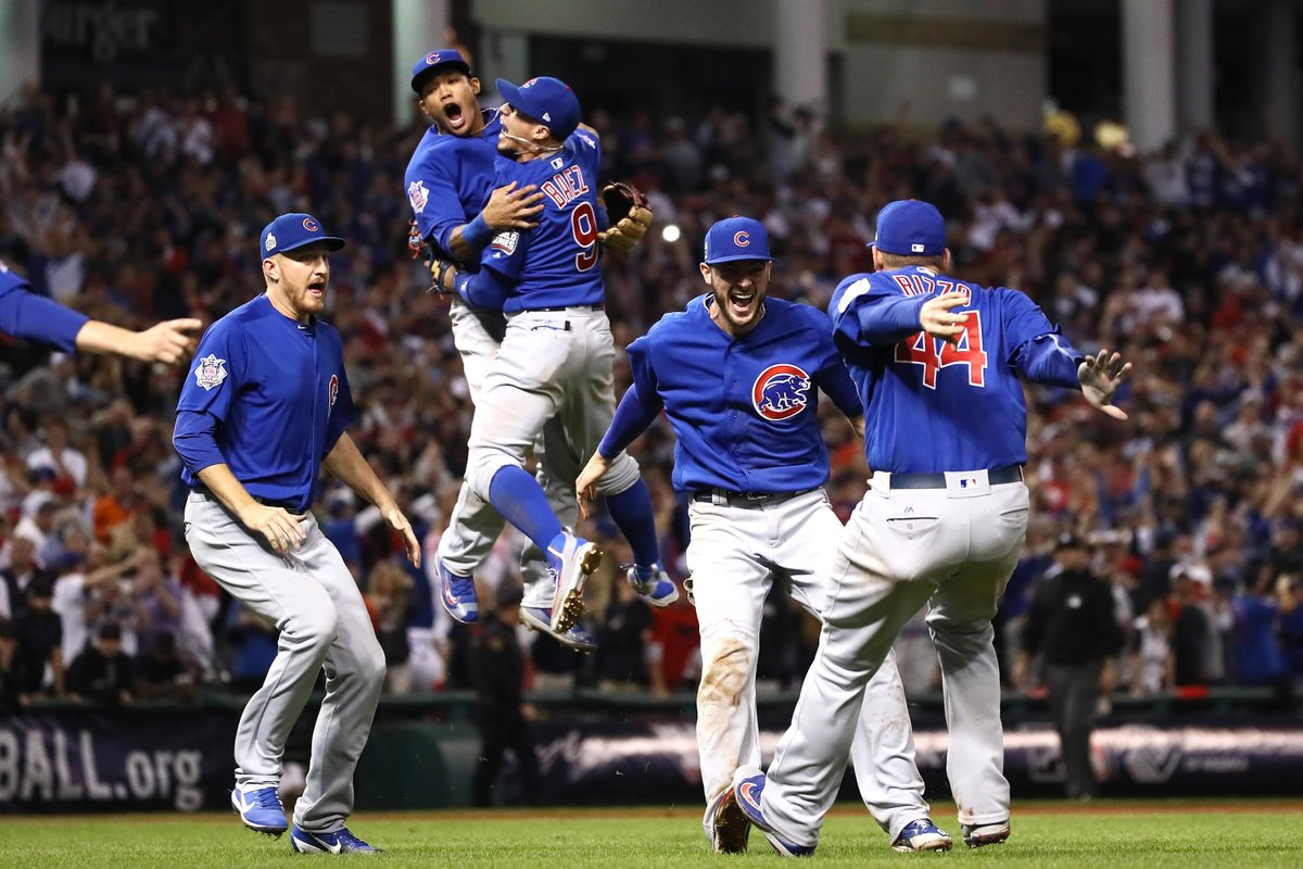 Cubs win 1st World Series title since 1908, beat Indians in Game 7