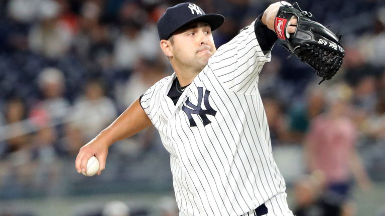 Indians acquire Nick Goody from Yankees