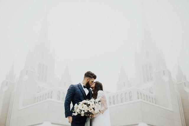 Bryce Harper and his fiancee Kayla got married over the weekend