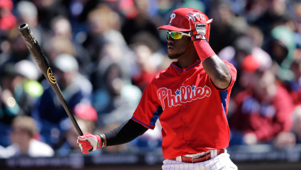 Phillies agree to a five-year contract extension with Odubel Herrera