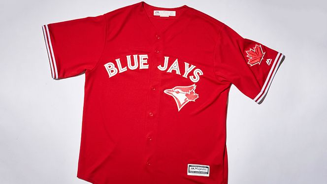Blue Jays unveil new red and white alternate uniform