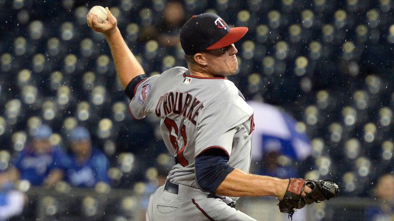 Twins reliever proudly admits he might have the majors' most disgusting ritual