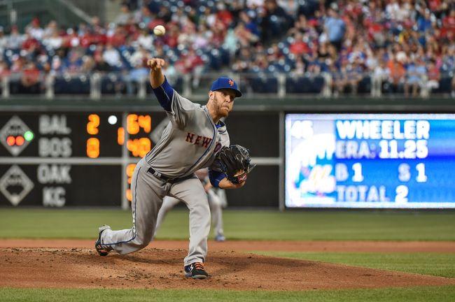 Mets sweep Phillies 5-4, Wheeler gets 1st win since 2014