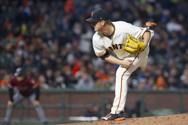 Cain ends drought in Giants' 6-2 win over D-backs