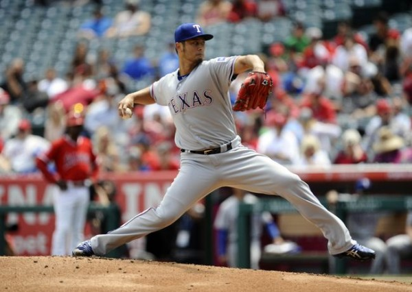 Yu Darvish dominates, Rangers pound Angels again, 8-3